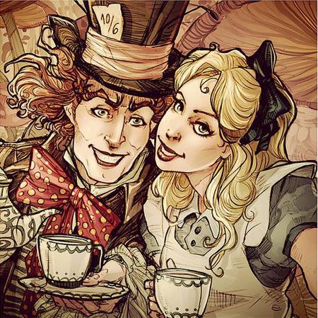 爱丽丝与疯帽子