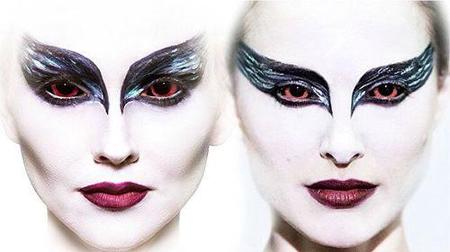 美女化妆师变身n多电影人物