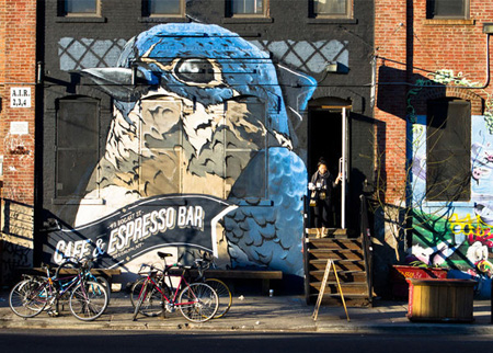 是街头艺术,还是到处乱画 上海涂鸦墙被拆,涂鸦控泪奔图片